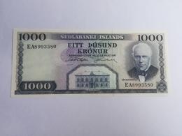 ISLANDA 1000 KRONUR 1961 - Islande