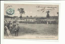 Loire- Cpa Feurs, Hippodrome, Cachet Convoyeur, Voyagée 1900, ( Tous Frais En + 1,30 Euros) - Feurs