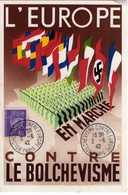 Carte Maximum Avec N°509 Pétain Oblitérée Paris Bolchévisme Contre Europe 2/6/42 - Maximumkarten