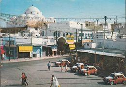 Tunesien - Tunis - Place Bab Souika - Street - Cars - Renault - Nice Stamp - Tunesien