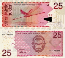 NETHERLANDS ANTILLES      25 Gulden       P-29d       1.1.2006      UNC - Antille Olandesi (...-1986)