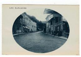 LES BARAQUES  ( Met HOTEL GRENOBLOIS) - Cartes Postales