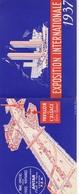 Exposition Internationale 1937 - Pavillon De L'ALSACE - Pub. ANTAR Et PECHELBRONN - Dépliants Touristiques
