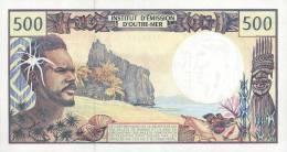 FRENCH PACIFIC TERRITORIES P. 1c 500 F 1992 UNC - Territoires Français Du Pacifique (1992-...)