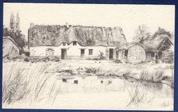 44 SAINT-LYPHARD Village De Bréca, Chaumière Avec Ses Annexes Et Sa Mare Aux Canards - Saint-Lyphard