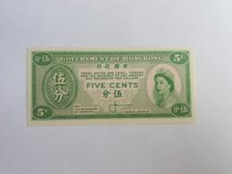 HONG KONG 5 CENTS 1961 - Hong Kong