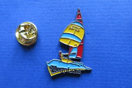 Pin's, Sport,ville,voile,SILVAPLANA, Lac Suisse - Sailing, Yachting