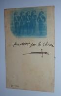 FM173 FOTO REGIO ESERCITO UFFICIALI BERSAGLIERI IN PARTENZA PER LA CINA LUGLIO 1900 - GATTINARA - Guerra, Militari