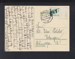 Dt. Reich PK 1936 Naumburg 1936 Rand - Briefe U. Dokumente