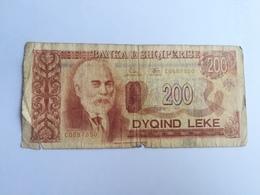 ALBANIA 200 LEKE 1994 - Albanie