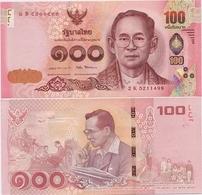 THAILAND       100 Baht       P-132      ND (2017)        UNC  [ Sign. 87 ] - Thaïlande