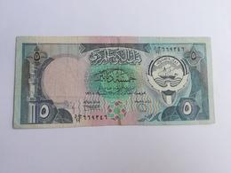 KUWAIT 5 DINARS 1968 - Koweït
