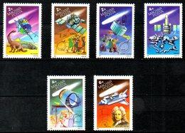 HONGRIE. N°3023-8 De 1986. Comète De Halley. - Space