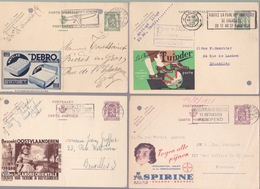 Publibel N°  955--968--205--Tuinder  Voir Scan - Enteros Postales
