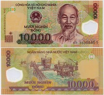 VIETNAM       10,000 Dong       P-119i       (20)15       UNC  [ 10000 ] - Vietnam