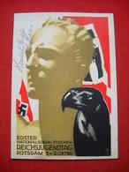 """HJ-Hohlwein-Karte """"Reichsjugendtag In Potsdam 1933"""", Gelaufen - Deutschland"""