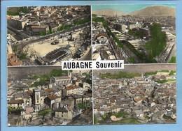Aubagne (13) Cours Maréchal Foch Vues Générales Aériennes Quartier De L'Horloge 2 Scans Osenda De St-Raphaël - Aubagne