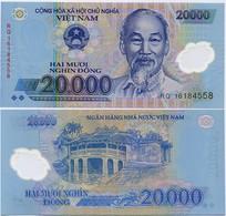 VIETNAM       20,000 Dong       P-120g       (20)16       UNC  [ 20000 ] - Vietnam
