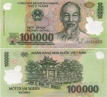 VIETNAM       100,000 Dong       P-122[n]       (20)17       UNC  [ 100000 ] - Vietnam
