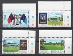 Bermuda 1976 Mi# 332-35** ST. GEORGE'S AND SOMERSET CRICKET CLUB MATCHES, 75th ANNIV. - Bermudes