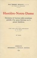 Hastière - Notre-Dame. 1937 - Archéologie