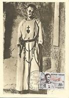CARTE POSTALE 1er JOUR  CHARLES DE FOUCAULD - Croix-Rouge
