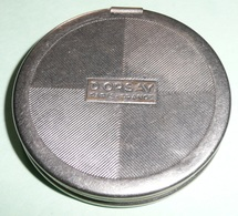 Rare Ancien Poudrier En Métal D'Orsay Parfumeur Paris, Miroir De Poche, Sac à Main, Poudre Fond Teint - Accessories