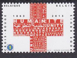BE 2013  - N° 4380 XX -  CROIX-ROUGE Emission Commune Avec L'Espagne à L'occasion  Du 150éme Anniversaire + ESPAGNE 4352 - Belgique