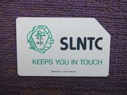 Urmet Phonecard,SRL-02 SLNTC,used - Sierra Leone
