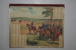 Almanach Des Postes  - 1906   (   Illustration Militaires Avec Relief )  -  Ordre De Chargé  ( Sabre) - Calendriers