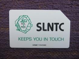 Urmet Phonecard,SRL-06 Black SLNTC,used - Sierra Leone