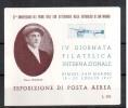 RIMINI 1947 IV GIORNATA FILATELICA INTERNAZIONALE - Erinnofilia