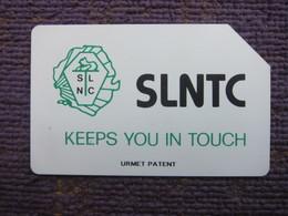 Urmet Phonecard,SRL-08 Black SLNTC,used - Sierra Leone