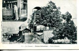 N°67151 -cpa Le Creusot -Usines Schneider -puits Chaptal- - Mines