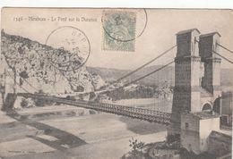CP , 84 MIRABEAU , Le Pont Sur La Durance - Autres Communes