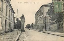 CPA 60 Crépy En Valois Porte Saint Ladres (sic) Ladre - Crepy En Valois