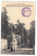 92 Sèvres Ville D' Avray Avenue Et Monument Gambetta Chemin Des Vallières Villa Des Jardies Ou Est Mort Gambetta - Sevres