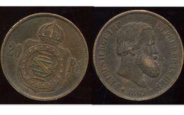 BRESIL 20 Reis 1869 - Brazil