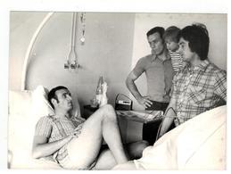 Anderlecht Met Georges Heylens In Ziekenhuis Met Maurice Martens (originele Foto 18cmx13cm) - Calcio
