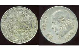 MEXIQUE 1 Peso 1972 - Mexique