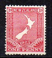 Sello  Nº 176  Nueva Zelanda - 1907-1947 Dominion
