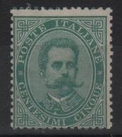 1879 Umberto 5 C. Verde MNH - Ungebraucht