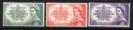 Serie Nº 199/201 Australia - 1952-65 Elizabeth II: Ediciones Pre-Decimales