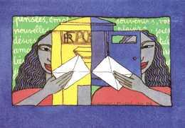 """""""Instants Magiques"""" Création De Christine Lesueur  RV  Union Des Philatelistes PTT  Cartophile - Bourses & Salons De Collections"""