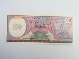 SURINAME 100 GULDEN 1985 - Surinam