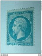 Y&T N°23, 20c Bleu, Neuf Sans Charniere** .............. Page13 - 1862 Napoleon III