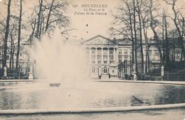 CPA - Belgique - Bruxelles - Brussels - Le Parc Et Le Palais De La Nation - Forêts, Parcs, Jardins