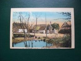 Carte Postale Ancienne De Saint-Lyphard: La Brière- Un Coin Du Bourg - Saint-Lyphard
