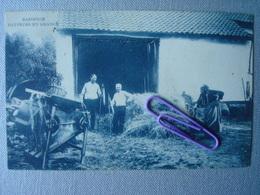 BASSENGE : Batteurs En Grange En 1907 - Bassenge