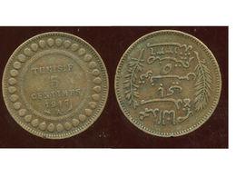 TUNISIE 5 Centimes 1912 - Tunisie